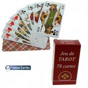 JEU DE TAROT 78 CARTES NATIONAL ETUI CARTON