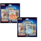 PACK 3 BOOSTERS POKEMON XY 12 EVOLUTIONS +