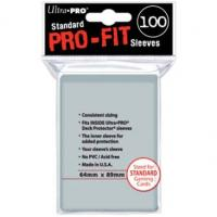 PRO-FIT SLEEVES (100) 64X89MM