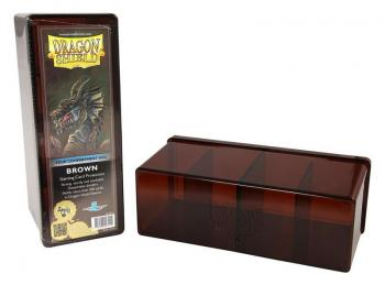BOITE DE RANGEMENT 4 CASES MARRON DRAGON SHIELD