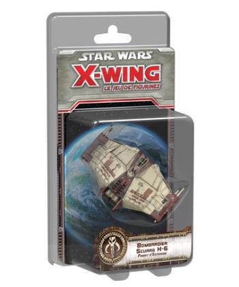 STAR WING X-WING : BOMBARDIER SCURRG H-6