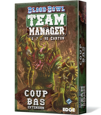 BLOOD BOWL TEAM MANAGER : COUP BAS
