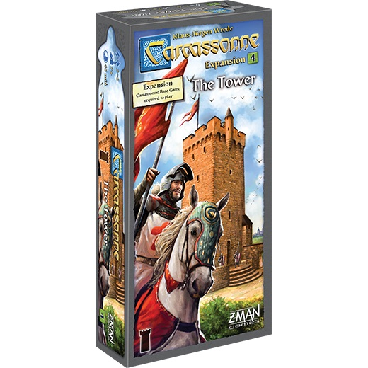 Carcassonne : La Tour - Extension 4