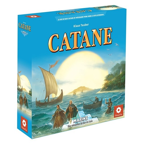 Catan : Extension Marins (3-4 joueurs)