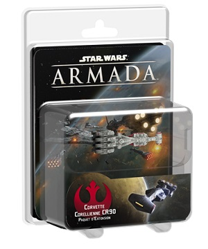 STAR WARS ARMADA : CORVETTE CORELLIENNE CR9