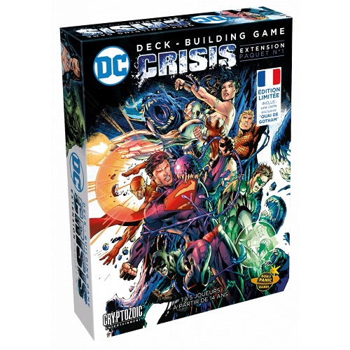 DC Comics - Deck-Building :  Crisi
