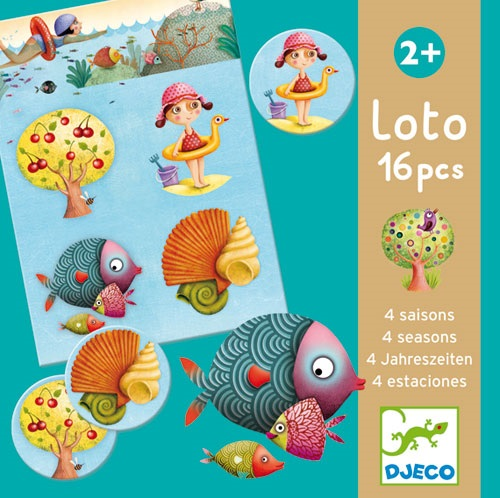 LOTO 4 SAISONS 16 PIECES