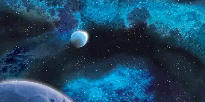 DOUBLE GAME MAT - FROZEN STAR SYSTEM