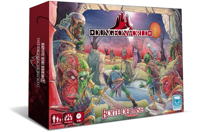 DUNGEON WORLD***
