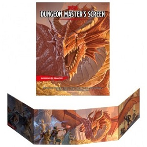 DUNGEON MASTER'S SCREEN 5TH EDITION