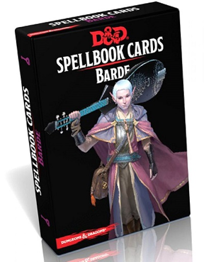 Dungeons & Dragons DD5 : Cartes de Sort - Barde