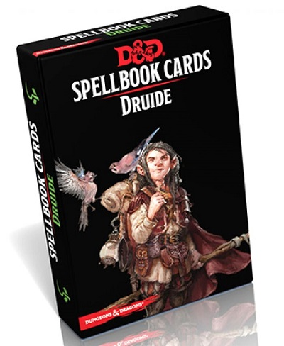 Dungeons & Dragons DD5 : Cartes de Sort - Druide