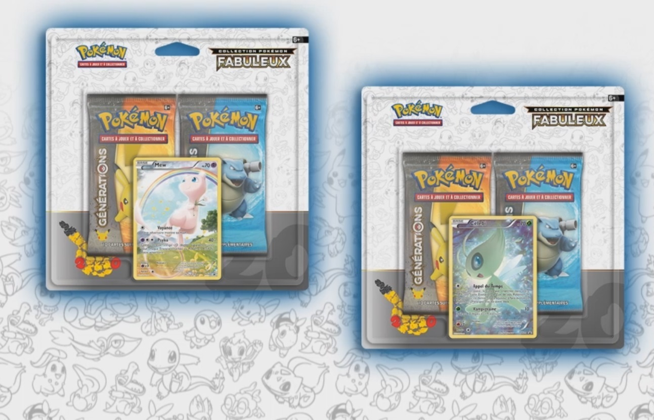 DUO PACK POKEMON COLLECTION FABULEUX