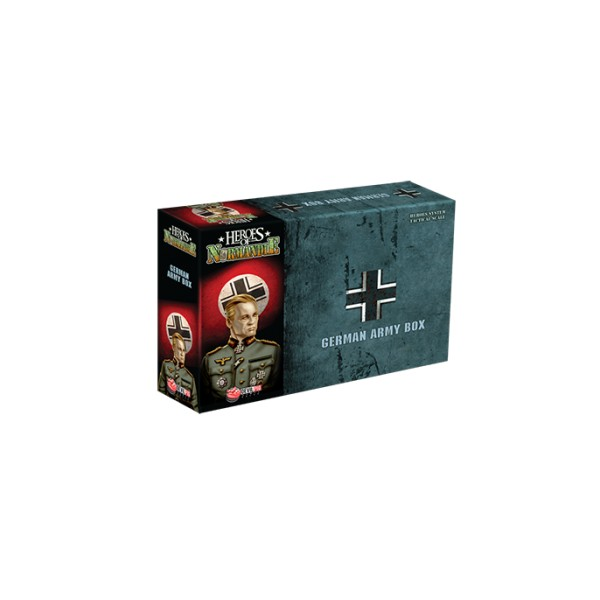 HEROES OF NORMANDIE : GERMAN ARMY BOX