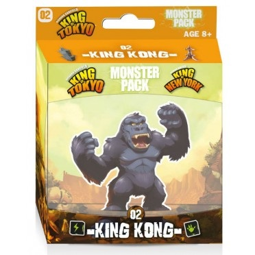 King of Tokyo : Monster Pack 2 - King Kong