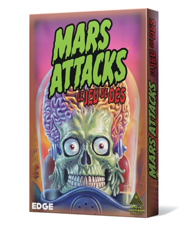 MARS ATTACKS - LE JEU DE DES