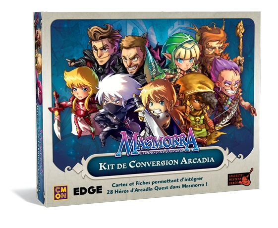 MASMORRA KIT DE CONVERSION ARCADIA