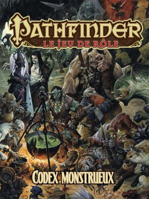 PATHFINDER : CODEX MONSTRUEUX