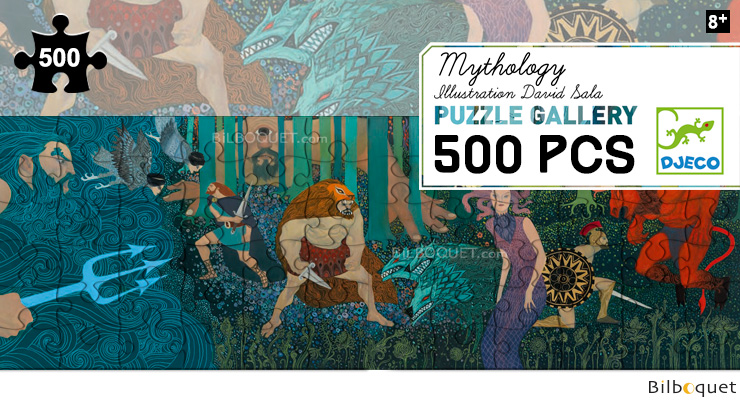 MYTHOLOGIE - PUZZLE GALLERY 500 PIECES