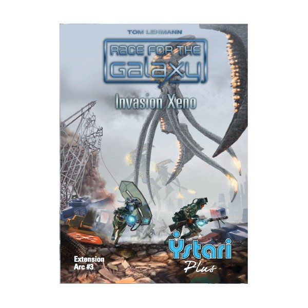 RACE FOR THE GALAXY : INVASION XENO
