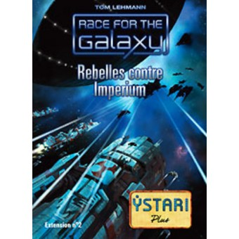 RACE FOR THE GALAXY : REBELLES VS IMPERIUM