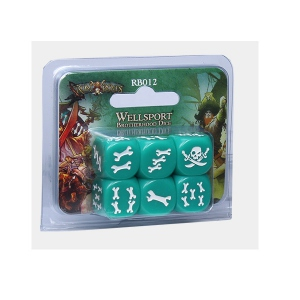 RUM AND BONES : SET DE DES WELLSPORT BROTHE