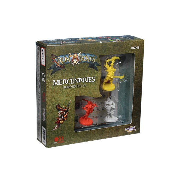 RUM AND BONES : SET DE HEROS MERCENAIRES 1