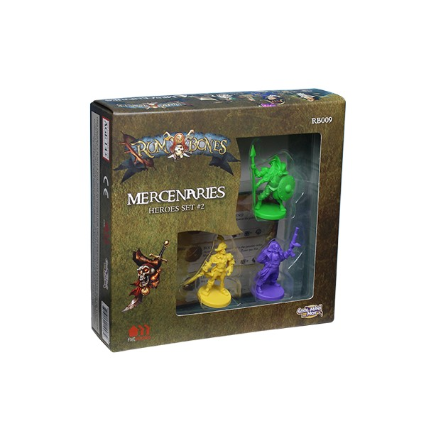 RUM AND BONES : SET DE HEROS MERCENAIRES 2