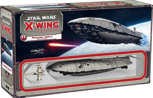 STAR WARS X-WING : TRANSPORT REBELLE