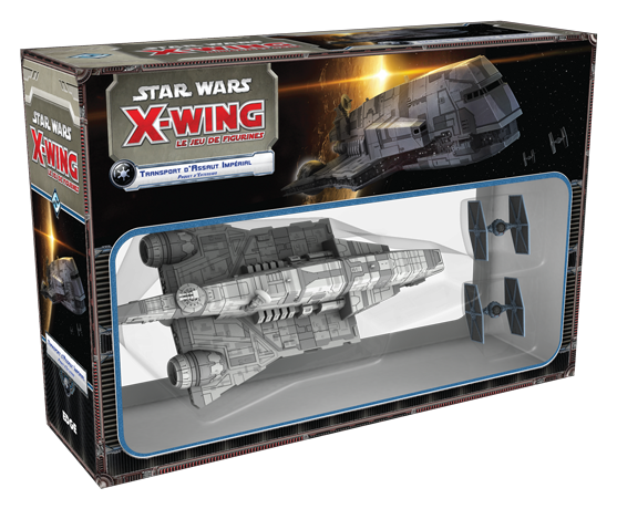 STAR WARS XWING TRANSPORT D'ASSAUT IMPERIAL