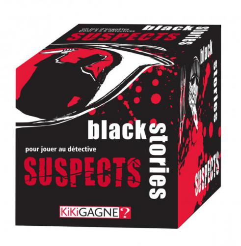 BLACK STORIES SUSPECT