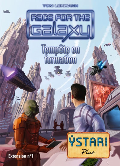 RACE FOR THE GALAXY : TEMPETE EN FORMATION