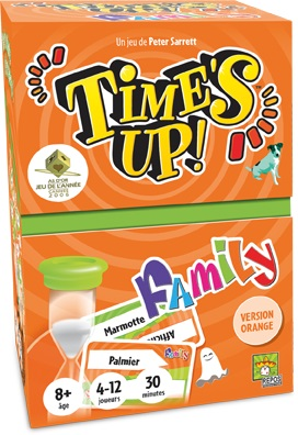 Time's Up Family - Orange