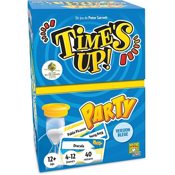 TIME'S UP PARTY - VERSION BLEUE