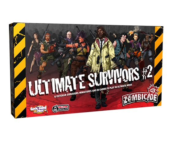 ZOMBICIDE : ULTIMATE SURVIVORS 2
